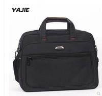 "14 ""business computer bag handbag shoulder inclined Ku three business official nylon briefcase"
