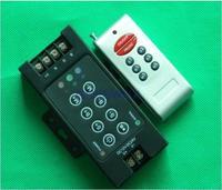 power rgb remote controller RF 8key 360w DC12V 8A wireless RF controller for  RGB led strip controller