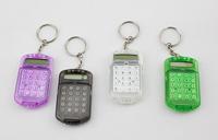 NEW Handheld Pocket Type mini calculators with Keyring Key Chain Cute Pocket Plastic 8 Digits LCD Display Mini Calculator