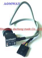 Aomway HD Mini 1/3'' CMOS FPV Camera 2.8 Lens Module 600TVL PAL Format NTSC Port