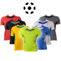 7 color NEW Brazil World Cup Away Yellow Green Soccer Jersey Casual T-Shirts Tee Shirt Sport Shirt S M L XL LSL3225
