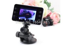 2.4 Inch K6000 HD Car DVR Vehicle Camera Video Recorder LED Night Vision Black Box styling, Free Shipping(China (Mainland))