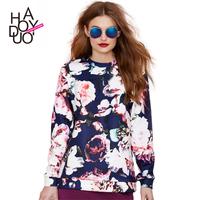 new spring /summer 2015 vintage floral prints pullovers