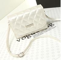 2014 women's handbag small bag mobile phone bag vintage small mirror cosmetic bag one shoulder cross-body women's bags