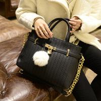 Free shipping  fashion women's handbag strap tassel street casual handbag messenger bag