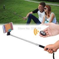 Monopod Para Selfie + Controle Remoto Bluetooth Shutter! O Frete e Gratis!