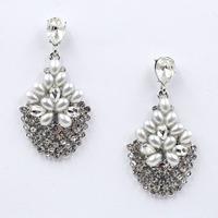 New Hot sale 2015 stud earrings pearl beades fashion earring  vintage statement Earrings for women jewelry wholesale