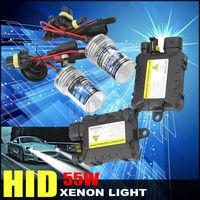 Xenon HID Kit Car Headlight Slim Ballast 55W H1 H3 H7 H9 H10 9006 Xenon Bulb 3000K 4300K 5000K 6000K 8000K 10000K 12000K
