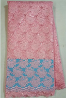 African guipure lace fabric,high quality embroidery water soluble lace AMY0923-B