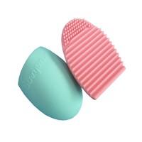 Brushegg Silicone Brush Egg Brush Cleaning egg Cosmetic Brush Scourer Cleanser Make up Makeup Brush Cleaner Clean tools