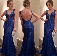 2015 new fashion high quality lace dress vestidos de festa vestido longo casual dress to party plus size gown dress LD44005