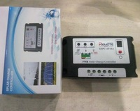 Free shipping 10A 12V/24V Auto intelligence PWM Solar Charge Controller, LED indication the battery status