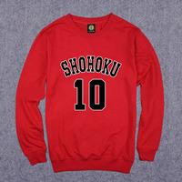 Classic Comics SLAM DUNK Basketball Sweatshirts SAKURAGI MITSUI RUKAWA MIYAGI SENDOH Basketball Sweatshirts