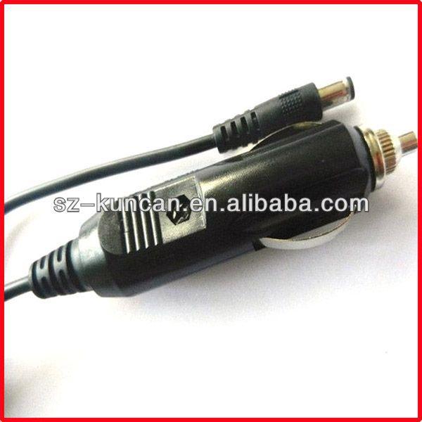 KUNCAN 001 -straight dc car charger cigar cable(China (Mainland))