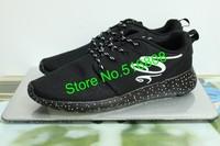 VeryCram 2015 New Cheap Men black Roshe run London Olympic Sports Walking shoes barefoot for women Running shoes free shipping