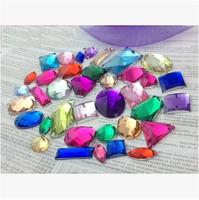 Free shipping 600pcs/lot sewing-on acrylic diamond, flatback rhinestones for bags, garments, DIY accessories.