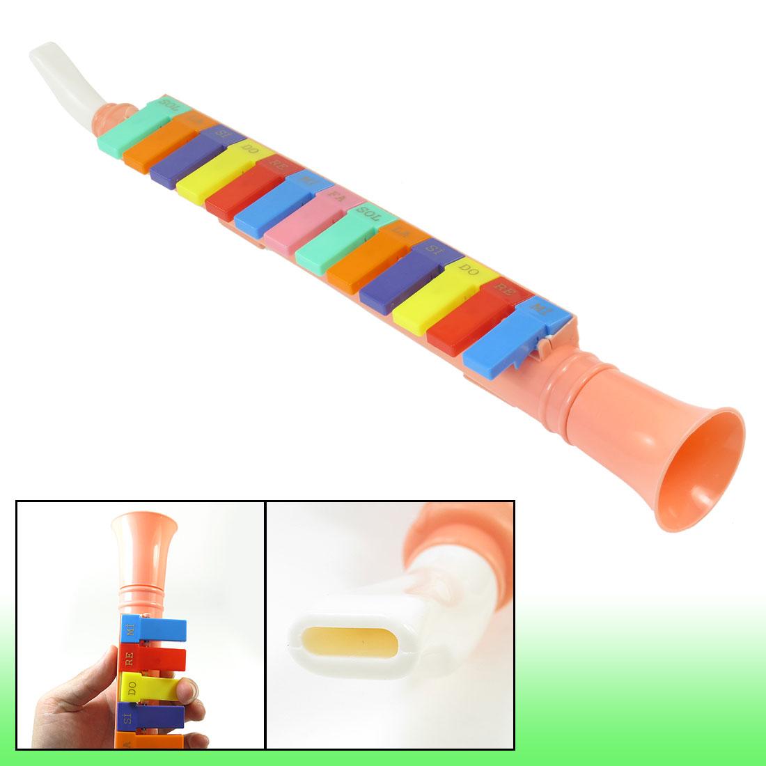Kayısı plastik 13 tuş eğitici oyuncak mızıka melodika çocuk