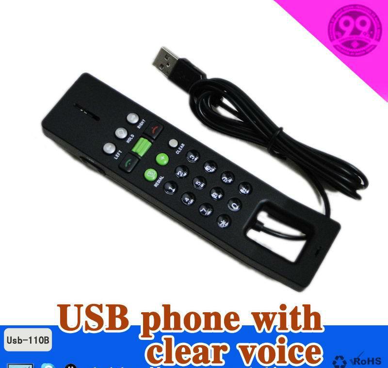 2015 Multi-platform USB hand phone support skype+USB VOIP Phone Skype Phone on PC with Windows(China (Mainland))