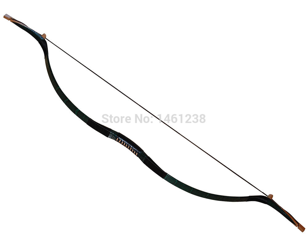 Hunting With Bow And Arrow Drawing Longbow Hunting Bow