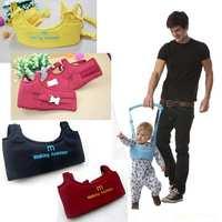 Kids keeper Baby Safe Walking Learning Aid Assistant,Toddler Kid Harness Adjustable Strap Wings,walking belt for infant,7 Colors