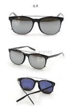 Vogue leader Clip on Sunglasses mirror sun glasses for men blue ray block oculos sol masculino