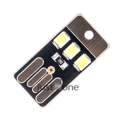 Black LED Lamp Bulb Keychain Pocket Card Mini LED Night Light Portable USB Power(China (Mainland))