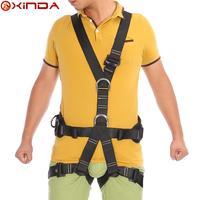 Professional outdoor sports full-body safety belt waist support Belt Climbing Hiking Safety Belt CE Certification