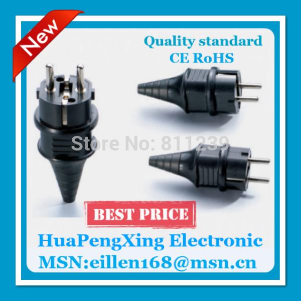 10PCS E-012 Connector socket/ industrial plug IEC 320 C14 EU Waterproof AC POWER plug AC socket 2202 Removable(China (Mainland))