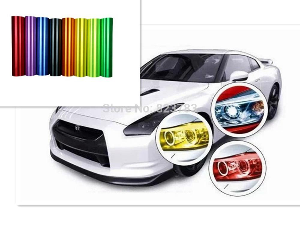 produto 2015 Car Stickers / Motorcycle Taillight Cover Harmonia Light Headlamps Matte Black Film Auto Film