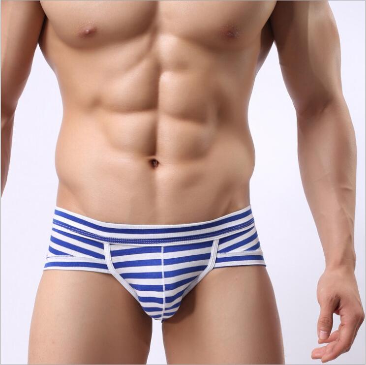 Top quality U convex modal men s Boxer bamboo fiber cotton men stripe striped underwear Boxer
