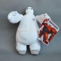 "Free Shipping Hot Sale Christmas Big Hero 6 Baymax Stuffed Plush Robot Doll Soft Baby Classic Toys 8""#1"