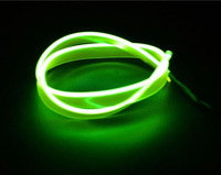 3M Flexible Light Glow EL Strip Wire Tube cold light cold wire Car Motorcycle interior decorative door dashbaord Atmosphere lamp