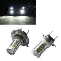 Details about 2PCS LED Headlight Cree H7 80W SMD Bulb Fog Light