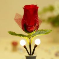 Power saving Light LED Night Light Rose Shape Lighting Control Sleeping Lamp Hot sale 220V  Wall Lamp Warm White Free Shipping