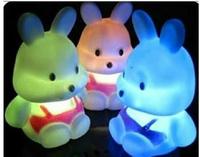 Hot Selling Animal Cartoon Colorful Led Flashing Small Night Light Toys Led Lighting Wholesale Free Shipping