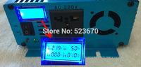 LCD DISPLAY 1500 1500W Pure Sine Wave Power Inverter Converter 12V DC to 220V 230V 240V AC 3000 3000W Watt Peak