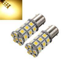 Details about 2PCS 1156 BA15S P21W 27 SMD 5050 LED RV Car Light Lamp Bulb 12V
