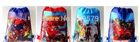factory price Free shipping DHL200pcs/lot big hero6 Cartoon Bag-woven fabrics Kid's School bag 34X27CM,party gift