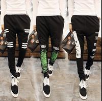 2015 New Arrival Fashion  Brand Design Mens Pants Mens Joggers Loose Casual Pants Men's Sports Pants Slim Trousers