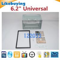 "6.2"" For 178mmx100mm 2 Din Universal Car player Audio Panel / Car Dash Frame Kit / Fascia Panel"