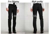 2014 Famous Quality Business men suit pants work Business dress pant slim mens pants calca social Men Suits