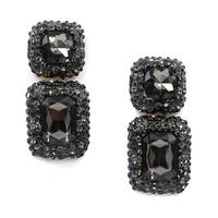 New Hot sale 2015 stud earrings glass crystal fashion earring  vintage statement Earrings jewelry wholesale