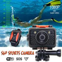 Sports Action Cam WIFI Digital DV Camera Waterproof Diving 60m Soocoo S60 HD Full 1080P Anti Shake Dark Light SOS Bigger Battery