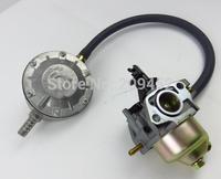 Supply LPG Carburetor Convertion kit fits for GX200/168F 6.5hp 196cc/212cc Engine, 2kw-3kw generator LPG Carbs