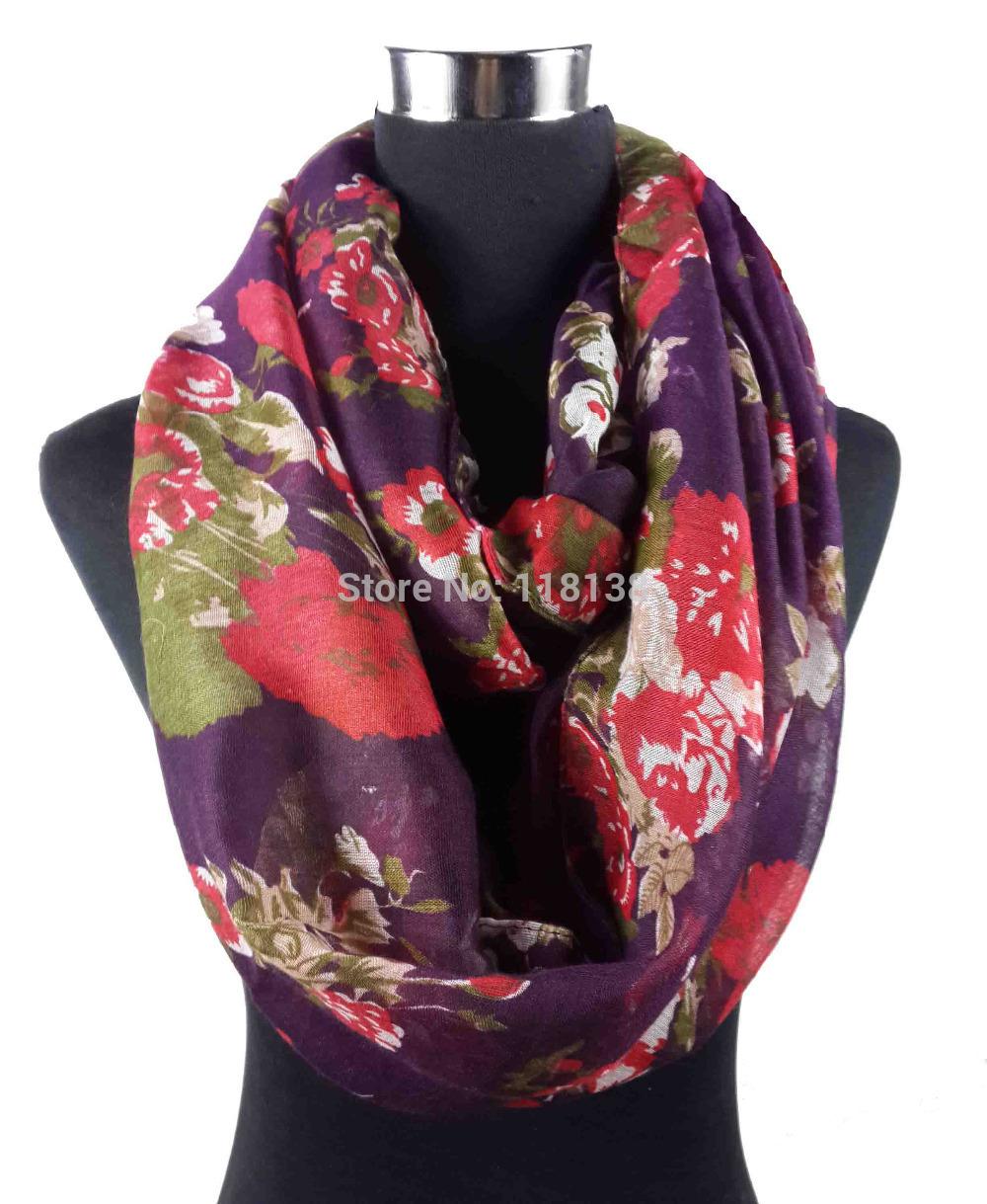 aliexpress buy big floral designs print infinity