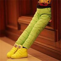 Convenient Fashion 4 Color Kid Children Clothing Boy Winter Warm Slim Pants Comfortable Children Trousers