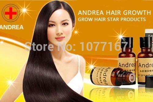 2 Bottles Original Andrea Hair Growth Essence Anti Hair Loss Liquid dense UNISEX fast hair regrowth treatment products(China (Mainland))