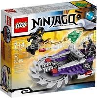 Original Brand Lego Blocks Bricks Learning Educational Models & Building Classic Toys 70720 Ninjago Series Hover Hunter 79PCS