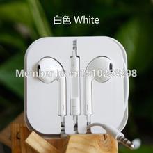 3.5mm studio cuffie auricolari in-ear cuffia auricolare audifonos auriculares per dj mp3 mp4 telefono giocatore musica microfono(China (Mainland))