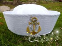 Free shipping custom bucket hat women and men captain sailor hat plain bucket hats